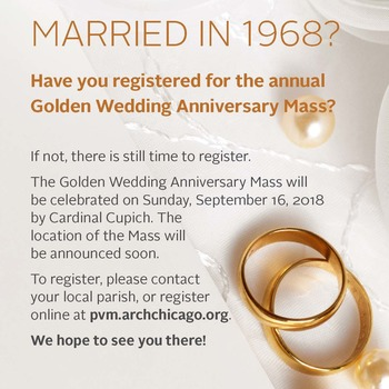 1968: Golden Wedding Anniversary Mass